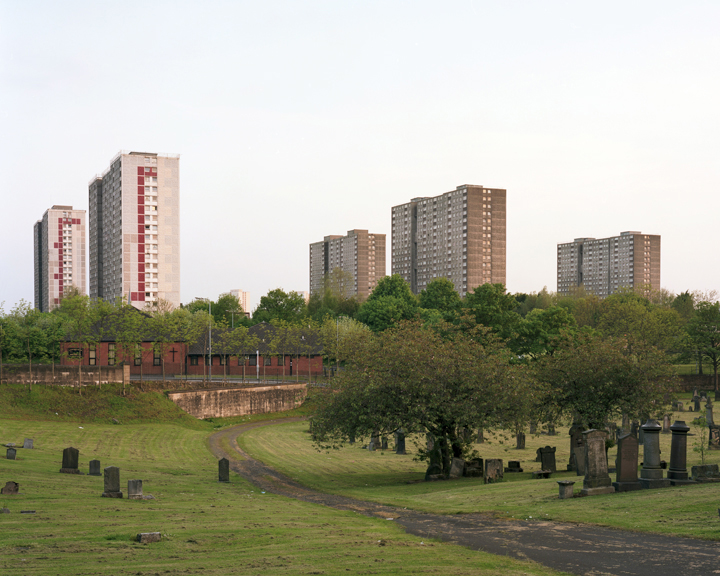 2. Sighthill Cemetry from series Glasgow Effect
