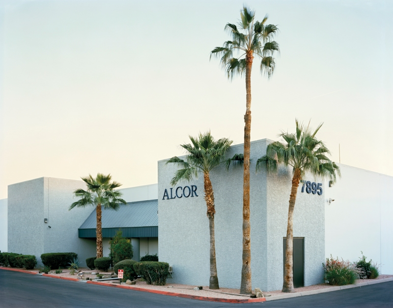 Alcor Life Extension Foundation (front view), Scottsdale, Arizon