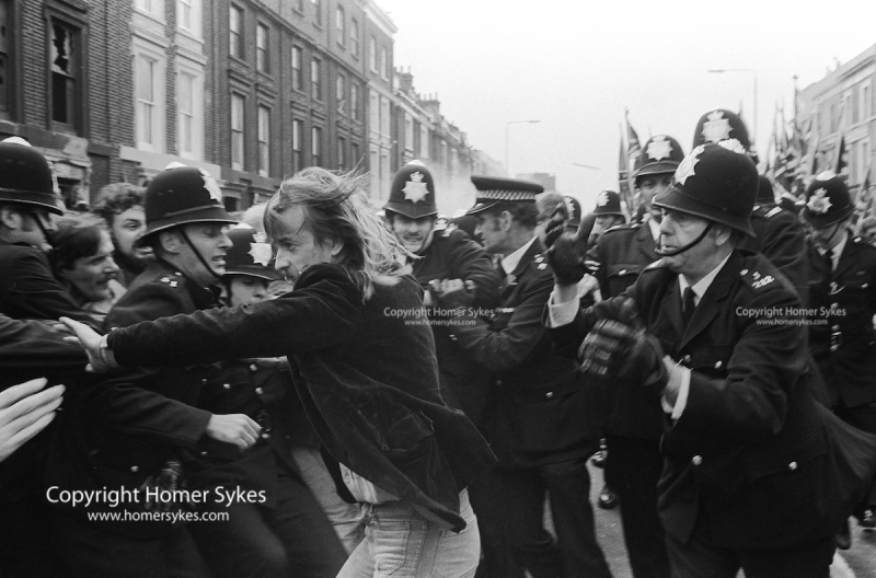 SWP SOCALIST WORKERS PARTY SUPPORTER ARREST LEWISHAM 1977