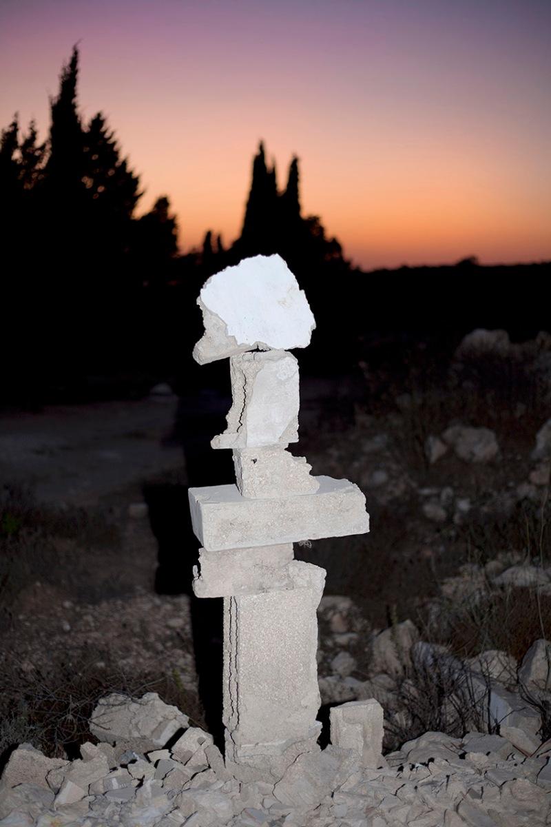SAM H Composition with found debris 1, Asira