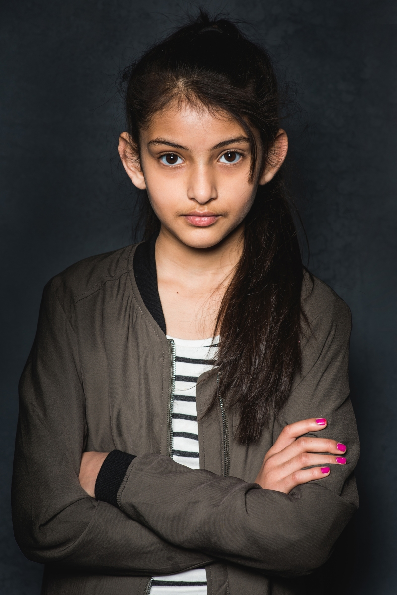 Web Aaisha aged 11 - Being Inbetween May 01, 2016 ©CarolynMendelsohn2019