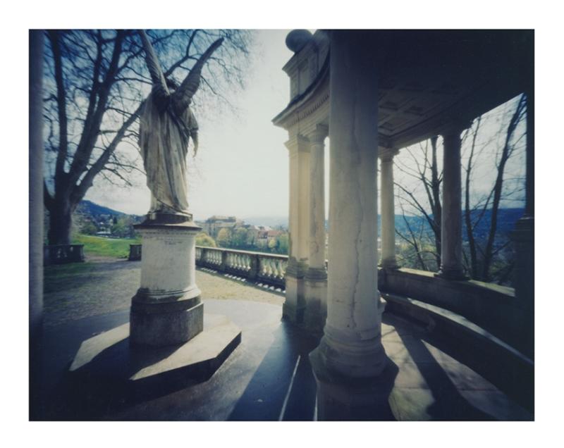 "After Robert Pinnacle's ""Prospect of the Schloss in Baden-Baden"""