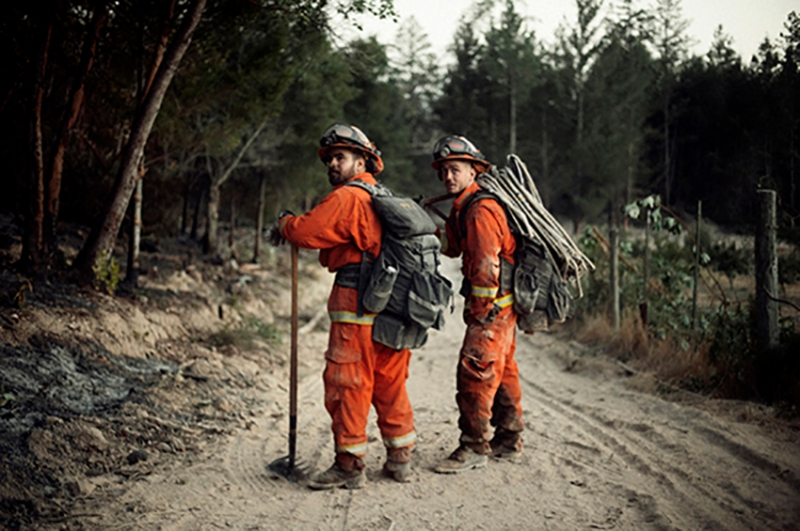 Inmate Firefighters - Wine Country Fires