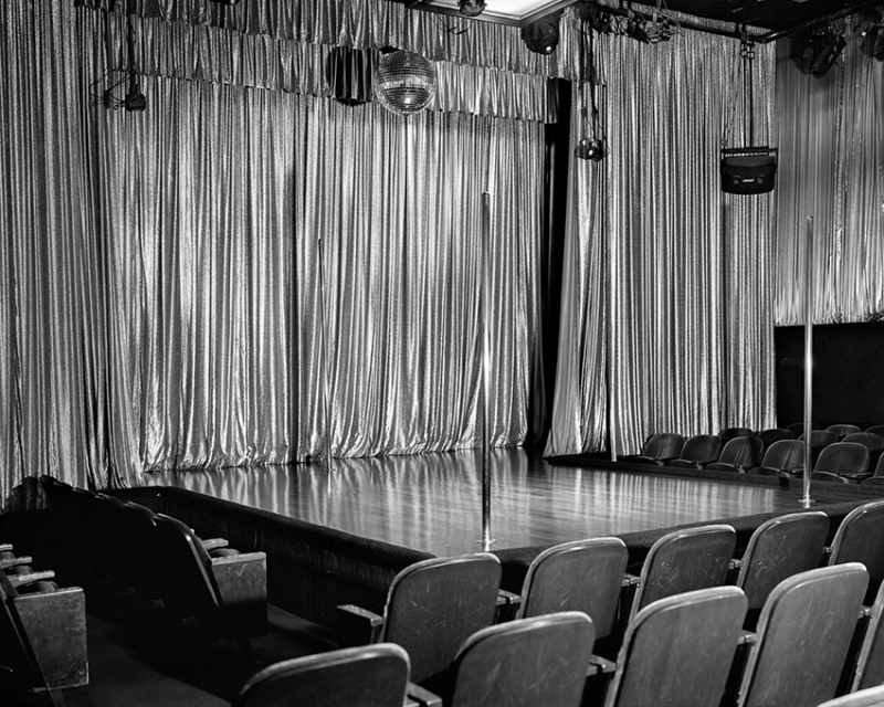 Main Stage at Mitchell Brothers O'Farrell Theatre, San Francisco